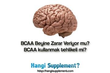 BCAA kullanımının ortaya çıkarabileceği tehlikeler arasında beyinde oluşabilecek nörotoksisite var mı?