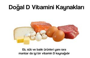 D vitamini doğal olarak pek çok kaynakta bulunmaktadır ama çoğu zaman zannedilenden az miktarda...