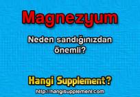 Magnezyum'un etkileri sandığınızdan fazla