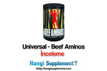 Universal markasının kalitesi Amino Asitlerde de öne çıkıyor mu?
