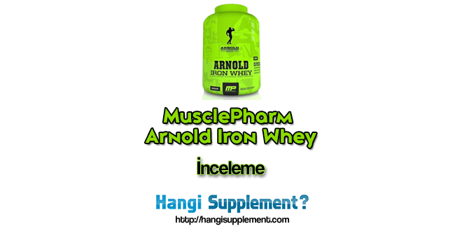 MusclePharm Arnold Iron Whey – Protein Tozu İnceleme