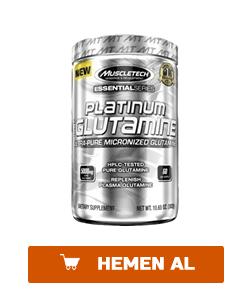 muscletech platinum glutamine 302 gr
