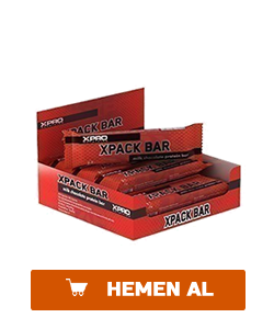 xpro xpack protein bar 65 gr 12 adet