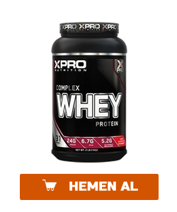 xpro whey complex protein tozu 1000 gr