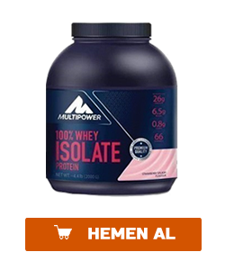 multipower whey isolate protein 2000 gr