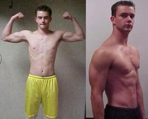 Vücut geliştirme sporuna yeni başlayan biri, genetiğine de bağlı olarak 1-2 yıl içerisinde büyük fiziksel değişim gösterebilir.