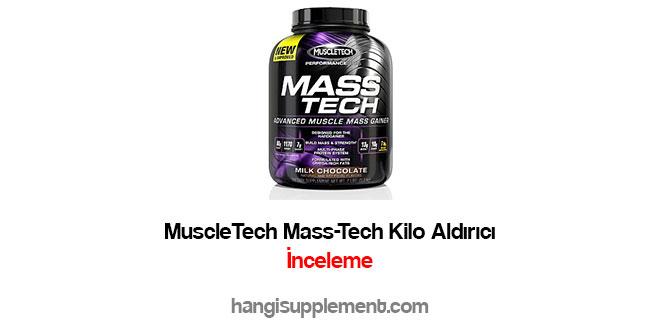 Muscletech Mass Tech Performance Series Kilo Aldırıcı Inceleme