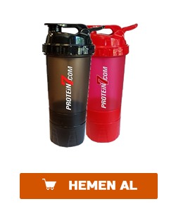 3 bölmeli protein7 baskılı shaker