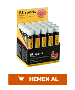 be sport liquid l-carnitine 300 gr 20 ampul