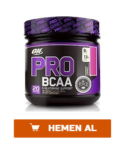 optimum pro bcaa powder 390 gr
