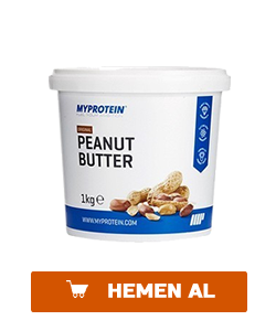 myprotein peanut butter crunchy fistik ezmesi 1 kg