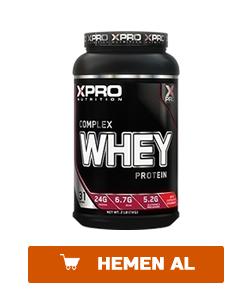 xpro whey complex protein tozu 1000 gr