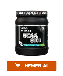 xpro bcaa 8100 powder 429 gr