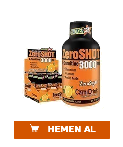 STACKER 2 ZERO SHOT 60 ML 3000MG L-CARNİTİNE 12 ADET