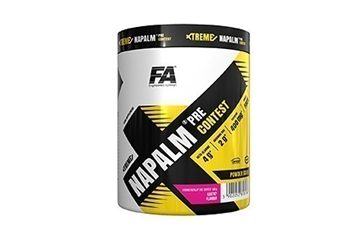 fa nutrition xtreme pre-workout 500gr